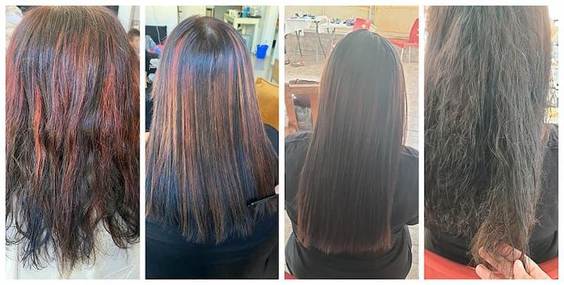 שני ישראל החלקות שיער
